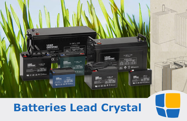 Batteries Lead crystal